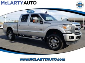 2016 Ford Super Duty F-250 SRW Platinum