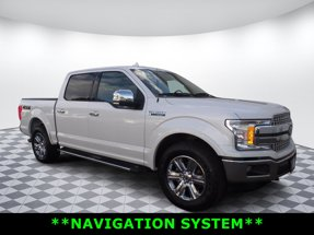 2018 Ford F-150 Lariat 4X4 SuperCrew Short Bed