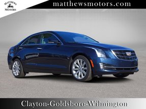 2018 Cadillac ATS Sedan Premium Luxury AWD w/ Nav & Sunroof