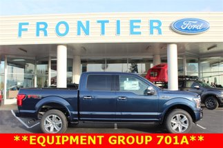 2020 Ford F-150 Platinum 4X4 SuperCrew Short Bed