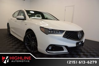 2018 Acura TLX w/A-SPEC Pkg Red Leather