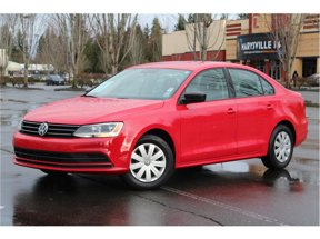 2015 Volkswagen Jetta Sedan 2.0L S Sedan 4D