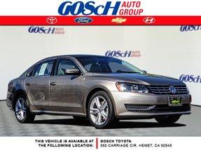 2015 Volkswagen Passat 2.0L TDI SE w/Sunroof & Nav