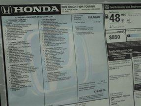 2020 Honda Insight Touring