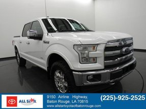 2017 Ford F-150 Lariat 4WD SuperCrew 5.5