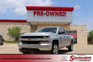 "2018 Chevrolet Silverado 1500 2WD Double Cab 143.5"" Custom"
