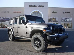 2020 Jeep Wrangler Unlimited Willys Sport