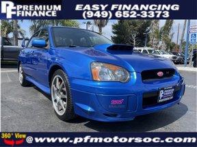 2004 Subaru Impreza Sedan WRX STi w/Silver Wheels