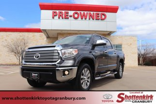 2015 Toyota Tundra CrewMax 5.7L FFV V8 6-Spd AT LTD