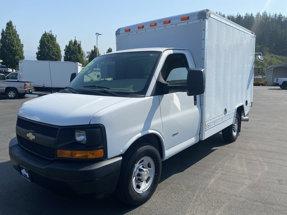 2011 Chevrolet 3500 Box Van 10ft Diesel