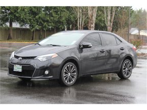 2015 Toyota Corolla S Plus Sedan 4D