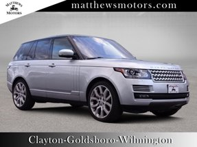 2016 Land Rover Range Rover Supercharged