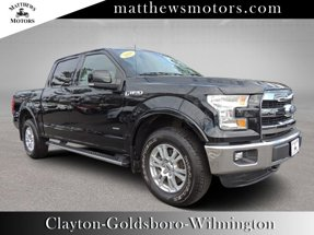 2016 Ford F-150 Lariat SuperCrew 4WD w/ Nav