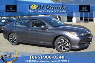 2017 Honda Accord Sedan EX-L CVT