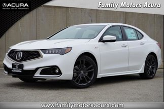 2020 Acura TLX w/A-Spec Pkg Red Leather