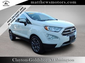 2018 Ford EcoSport Titanium 2WD w/ Sunroof