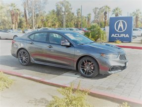 2020 Acura TLX with A-Spec Pkg Red Leather