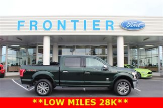 2016 Ford F-150 King Ranch 4X4 SuperCrew Short Bed