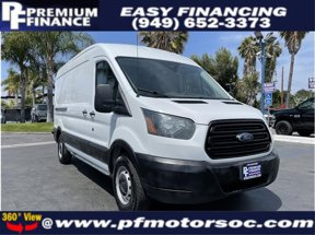 2016 Ford Transit Cargo Van MEDIUM ROOF CARGO 3.7L BACK UP CAM 1OWNER CLEAN