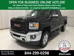2015 GMC Sierra 2500HD available WiFi SLT