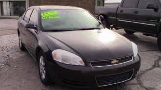 2008 Chevrolet Impala Police Unmarked Police