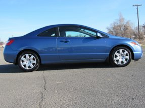 2007 Honda Civic Coupe 2DR LX