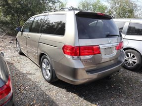2010 Honda Odyssey Navigation and Rear Entertainment
