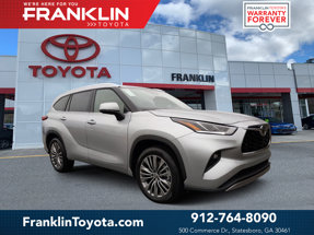 New 2020 Toyota Highlander in Statesboro, GA