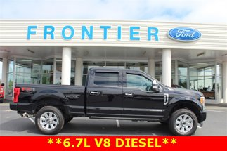 2018 Ford F-350 DIESEL Platinum 4X4 Crew Cab Short Bed