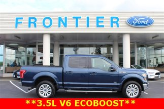 2016 Ford F-150 Lariat 4X4 SuperCrew Short Bed