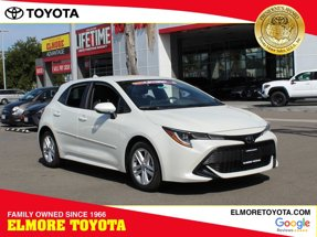 2020 Toyota Corolla Hatchback SE Manual