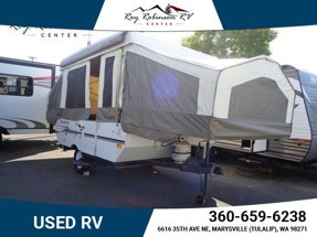 2010 FOREST RIVER ROCKWOOD POPUP TRAILER