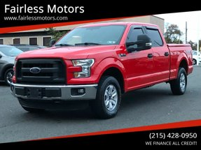 2016 Ford F-150 XL 4x4 4dr SuperCrew 6.5 ft. SB