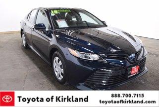 2018 Toyota Camry Hybrid LE