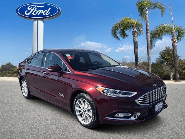 2017 Ford Fusion Energi Titanium 4D Sedan