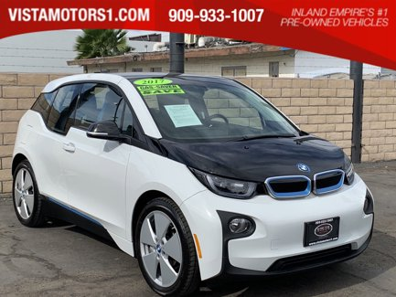 2017 BMW i3 Mega World Comfort Pkg 4D Hatchback AC Electric Motor