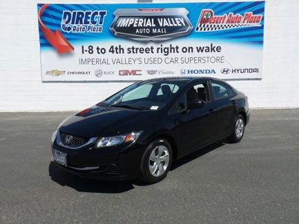 Used 2014 Honda Civic Sedan 4dr CVT LX