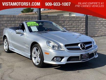 2011-Mercedes-Benz-SL-550-Premium-Pkg-1-2D-Roadster-V8-55L