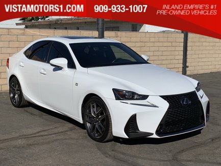 2017-Lexus-IS-200t-Luxury-F-Sport-Pkg-4D-Sedan-4-Cyl-Turbo-20L