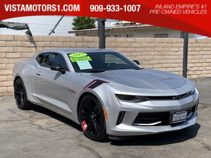 2017 Chevrolet Camaro 2LT RS 50th Anniversary Edition Pkg-Ground Effects Preferred Tech Pkg 2D Coupe 4-Cyl Turbo 2.0L