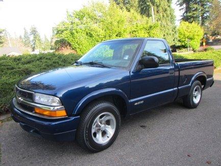 Used 1999 Chevrolet S-10 Reg Cab 108 WB LS