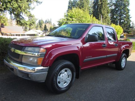 Used 2004 Chevrolet Colorado Crew Cab 126.0 WB 4WD 1SE LS Z71