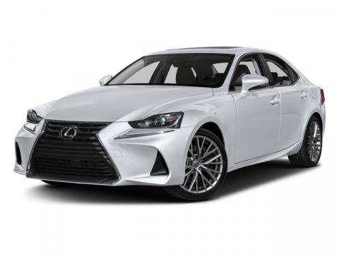 New 2017 Lexus IS, $42965