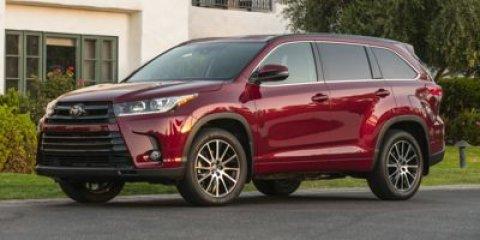 New 2017 Toyota Highlander, $36122
