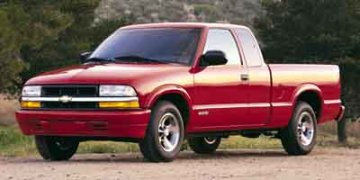Used 2002 Chevrolet S-10 Ext Cab 123 WB 4WD LS