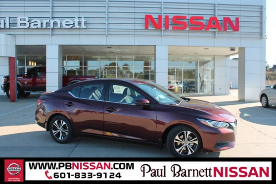 New 2020 Nissan Sentra in Brookhaven, MS