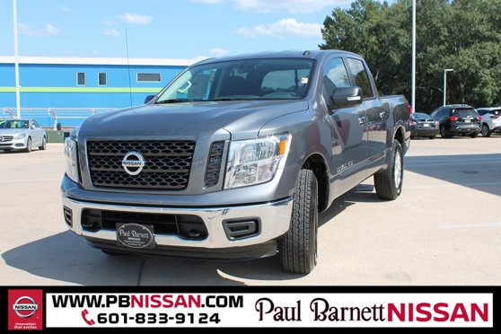 New 2019 Nissan Titan in Brookhaven, MS