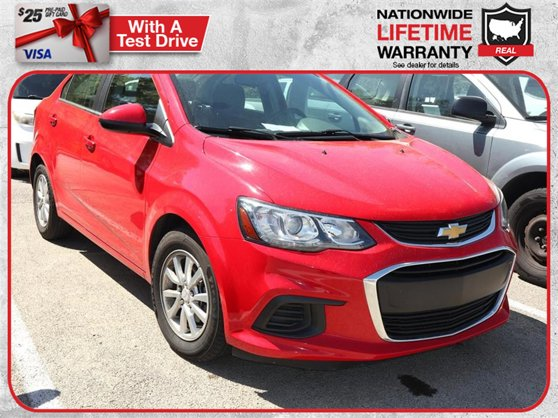 Used Chevrolet Sonic Holiday Fl