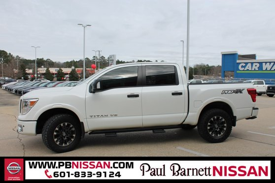 Used 2018 Nissan Titan in Brookhaven, MS