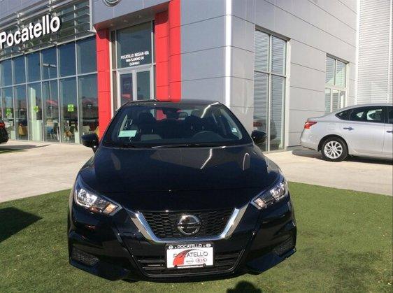 New 2020 Nissan Versa in Pocatello, ID